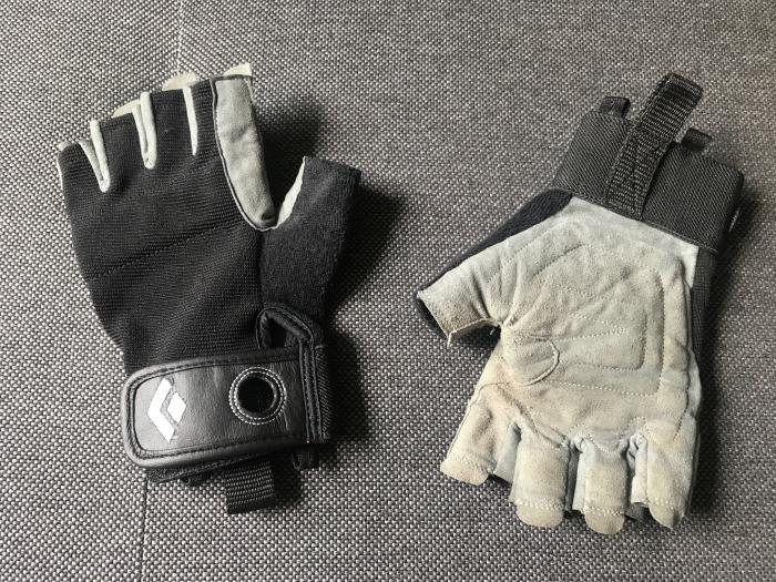 Black Diamond Klettergurt Haltbarkeit : Black diamond crag half finger schwarz kletterhandschuhe