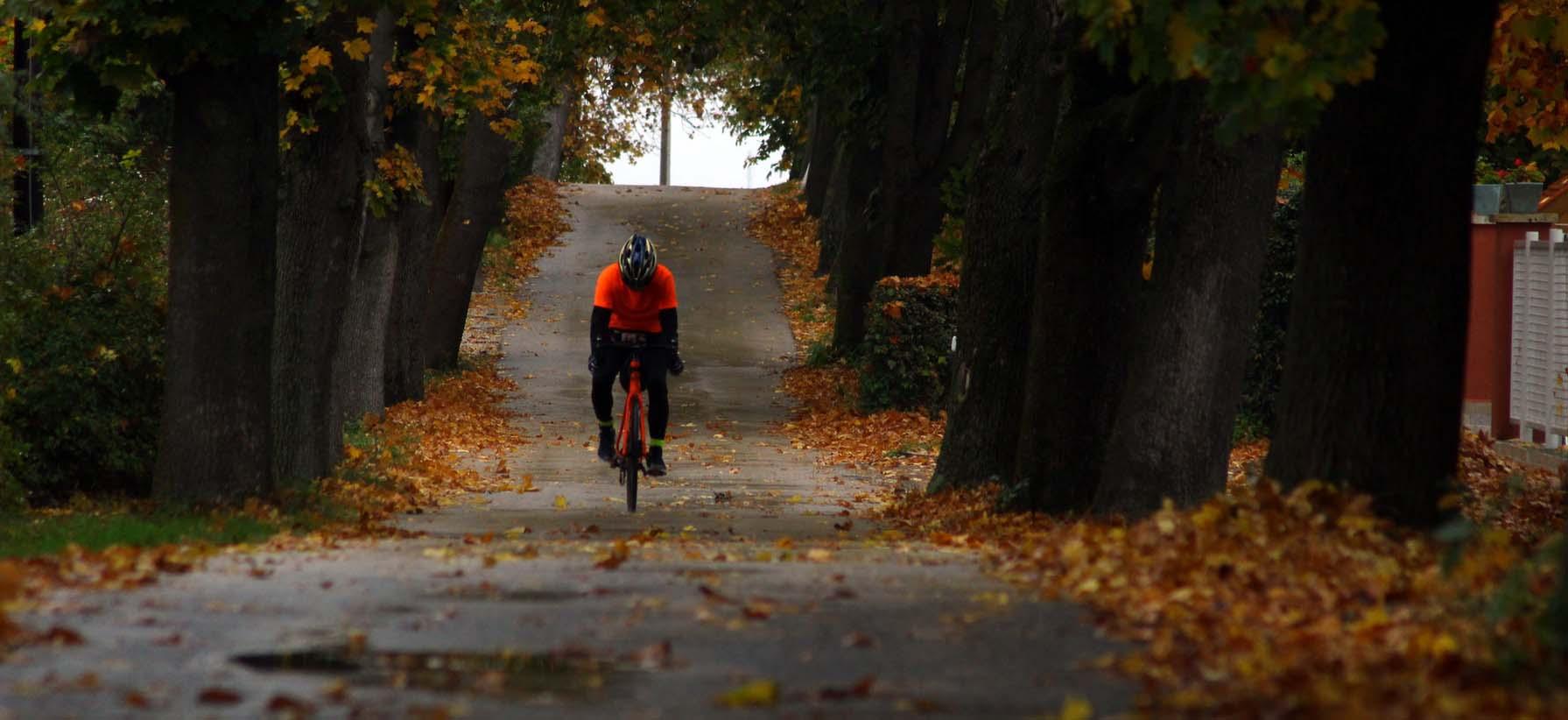 Biken im Herbst
