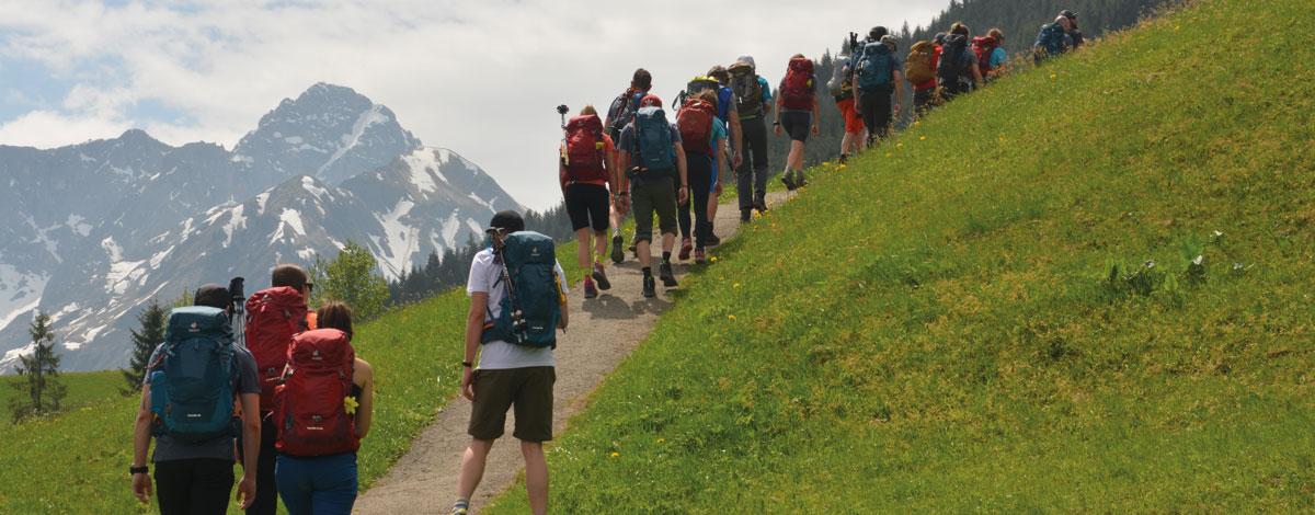 Checkliste: 24 h Wanderung