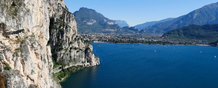Atemberaubende Blicke bietet der alte Ponale Weg. Foto: Roberto Vuilleumier/Valle di Ledro