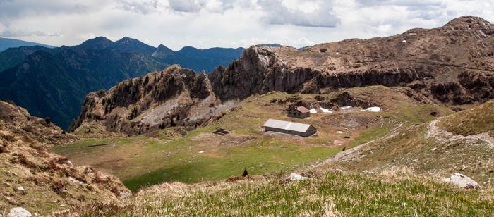 Von mediterran bis hochalpin - so gibt sich die Tour zum Monte Cadria. Foto: Mark van Hattem/Valle di Ledro