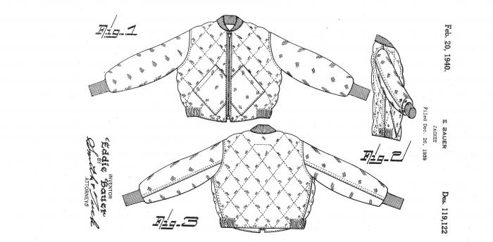 Die Skyliner Jacke von Eddie Bauer von 1936