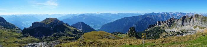 Hier muss der Altus das erste Mal zeigen was er kann: Rofan-Gebirge nahe des Achensees