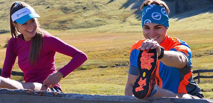 Trailrunningschuhe haben eine eher harte Sohle, die auch deutlich mehr Grip hat als Sohlen normaler Laufschuhe. (Foto: Scarpa)
