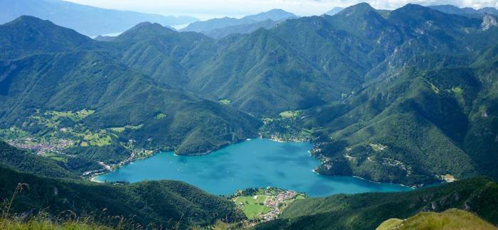 Blick vom Cima di Pari, Foto: Stefania Oradini/Valle di Ledro