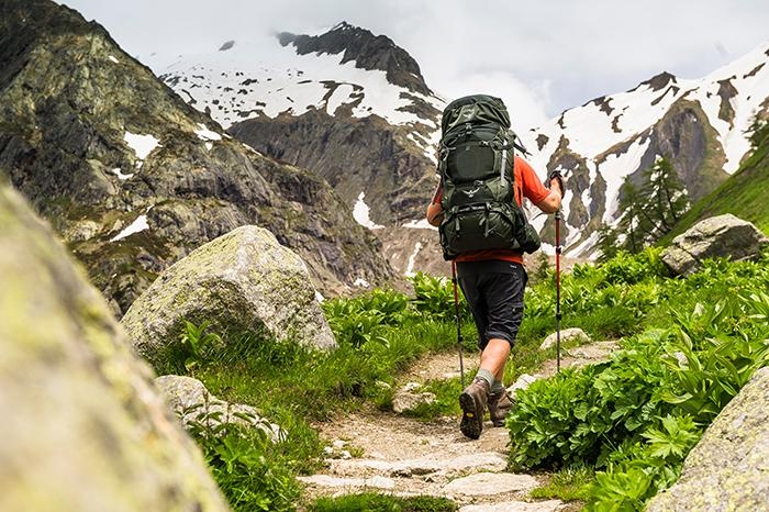 Perfekt für längere Touren durch's Niemandsland: Der Osprey Aether AG 70 Trekkingrucksack
