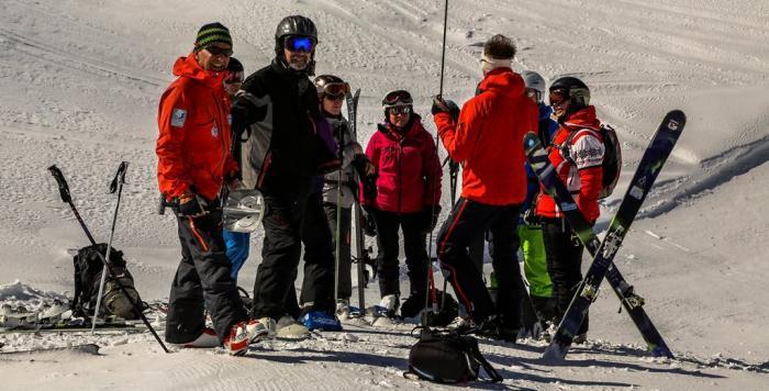 Regelmäßiges Training im Umgang mit dem LVS-Gerät ist äußerst wichtig | Foto: ROCK'nd SNOW Berg- und Skischule, Stefan Langkau