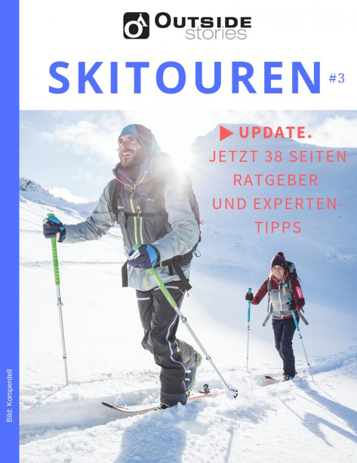 Prall gefüllter Ratgeber zum Thema Skitouren-Ausrüstung