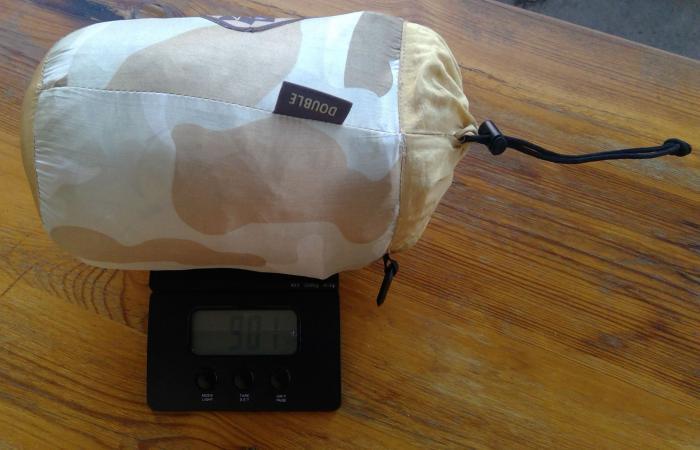 Gesamtgewicht 901 g