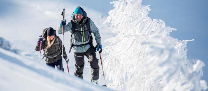 Mit der richtigen Ausrüstung geht der Aufstieg leichter | Foto: Komperdell