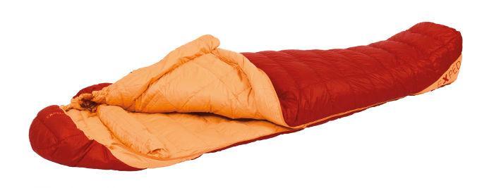 Der Exped Lite -11 Daunenschlafsack ist ein klassischer Mumienschlafsack für drei Jahreszeiten.