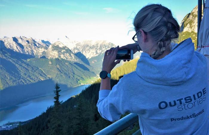 Der Achensee markiert die Grenze zum Karwendelgebirge und den Brandenberger Alpen.