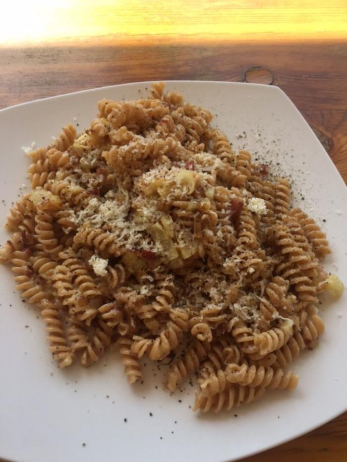 Trivelline mit Parmesan
