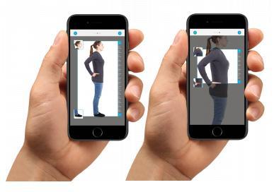 So einfach geht's: Foto machen, hochladen, Größe und Rückenlänge bestimmen, dann Rucksack auswählen.