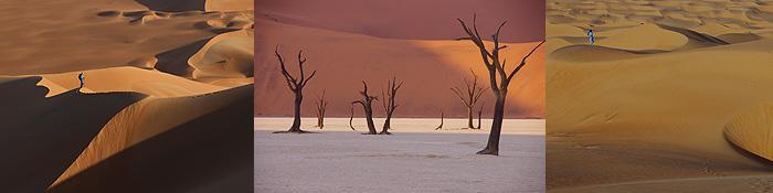 Formen, Farben, Strukturen ... die Wüste kann atemberaubend schön sein. Sie kann aber auch gefährlich sein ...