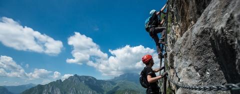 Checkliste: Klettersteig
