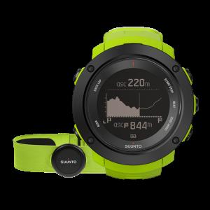 Suunto Ambit 3 Vertical - GPS Uhr für Abenteurer- lime (HR)