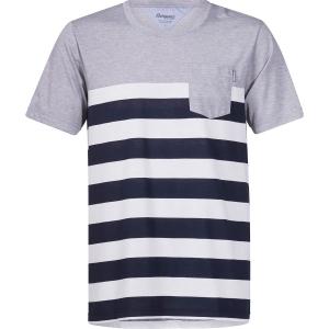 Bergans Herren Lyngør T-Shirt Schwarz XXL