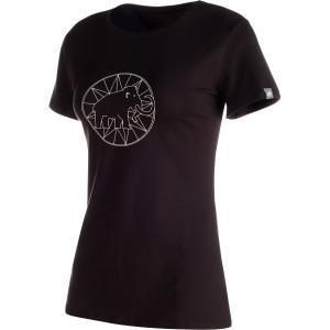Mammut Damen Mammut Logo T-Shirt Schwarz L