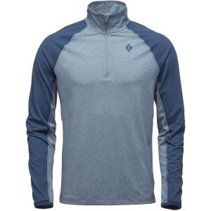 Black Diamond Herren Approach Quarter Zip Longsleeve Blau M