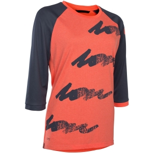 ION Damen Scrub Amp 3/4 Longsleeve Orange S