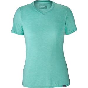 Patagonia Damen Daily Cap T-Shirt Türkis XS
