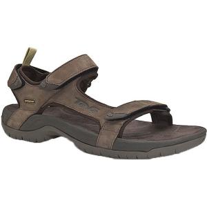 Teva Herren Tanza Leather Sandale Braun 40.5