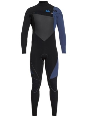 Quiksilver 4/3 Highline+ Chest Zip Hyd Wetsuit