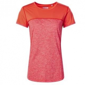 berghaus W Voyager Tech Tee SS Crew Damen T-Shirt orange Gr. S