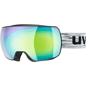 Uvex Compact Fm Mirror Skibrille Schwarz
