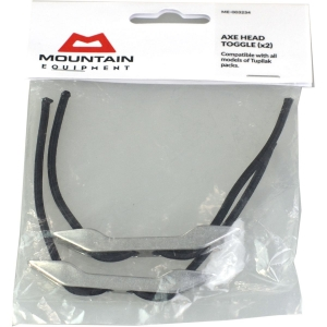 Mountain Equipment Axe Head 2x Toggle Grau