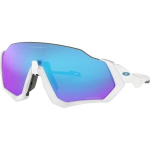 Oakley Flight Jacket Sonnenbrille Weiß