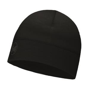 Buff Lightweight Merino Wool Hat Mütze schwarz