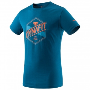 Dynafit - Graphic Cotton S/S Tee - T-Shirt Gr XL blau