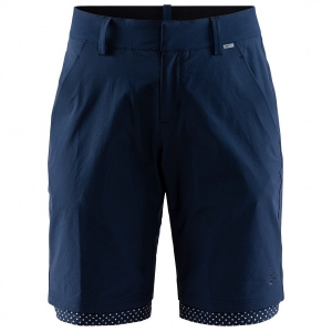 Craft - Women's Ride Habit Shorts - Radhose Gr L;M;S;XL;XS schwarz/blau