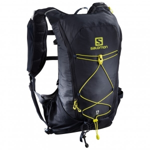 Salomon - Agile 12 Set - Trailrunningrucksack Gr One Size grau/schwarz