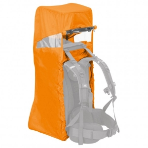 Vaude - Big Raincover Shuttle - Kinderkraxe orange/grau