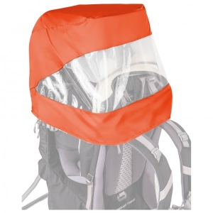 Vaude - Sun Raincover Combination Shuttle - Kinderkraxe grau/orange