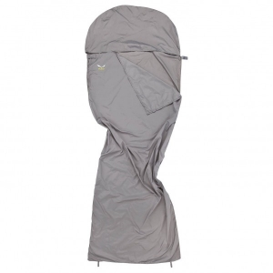 Salewa - Microfibre Liner Silverized - Schlafsackinlet grau