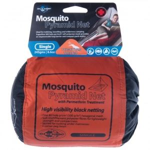 Sea to Summit - Mosquito Box Net Single - Moskitonetz Gr Single schwarz