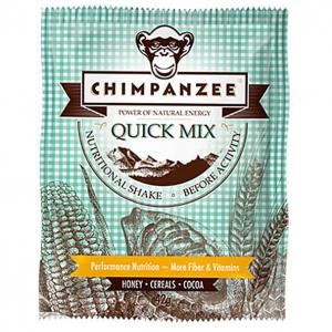 Chimpanzee - Quick Mix Shake Honey / Cereals / Cocoa Gr 42 g