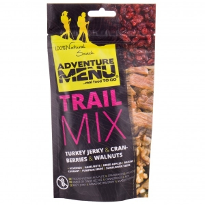 Adventure Menu - Trailmix Cranberry / Turkey Jerky / Walnuts Gr 100 g;50 g