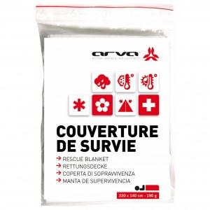 Arva - Rescue Blanket - Erste-Hilfe-Set Gr 60 g rot