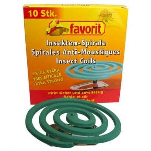 Basic Nature - Moskitospirale - Insektenschutz Gr 10 Stück grün