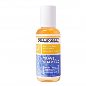 Fibertec - Travel Soap Eco Gr 100 ml;250 ml grün/weiß