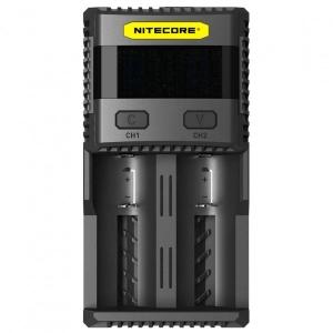 Nitecore - Schnellladegerät SC2 schwarz