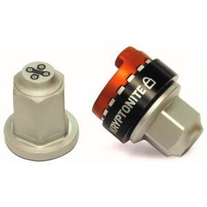 Kryptonite - WheelNutz Sechskant-Hutmuttern M10 grau
