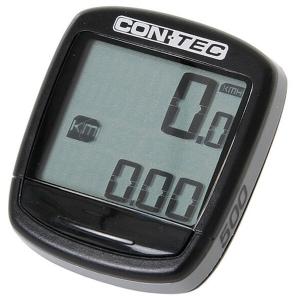 Contec - Fahrradcomputer C-500 schwarz/ coolgrey