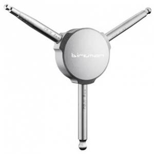 Birzman - Y-Grip 2/2,5/3 mm Hex Key Set grau
