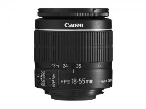 Canon EF-S 18-55 / 3.5-5.6 IS II – schwarz